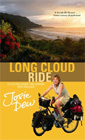 The book cover for LONG CLOUD RIDE: A cycling adventure across New Zealand. Click to buy.