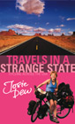 The book cover for Travels in a Strange State: Cycling Across the USA. Click to buy.